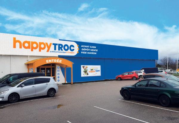 Happy Troc est une franchise de dépôt vente